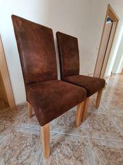 2 kaum benutzte gemütliche Stühle