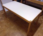 2 stabile Holztische - 150 x