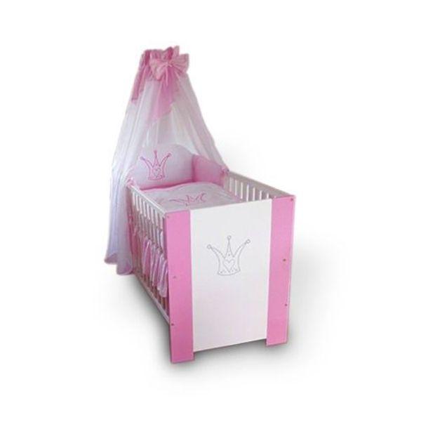 Krone Rosa Babybett-120x60 Babybett NEU