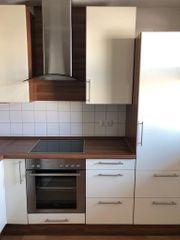 hochwertige Küche mit Eckkarussel