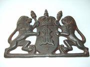 Altes Gusseisernes Wappen