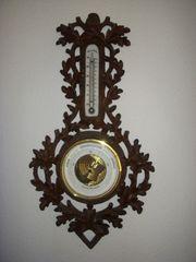 Sammler Altes Aneroid-Barometer