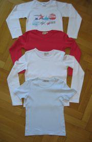 3 Longsleeves Langarm Shirts und