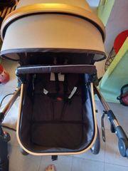 Kinderwagen und Babysafe