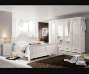 Bett mit Nachttischen Doppelbett
