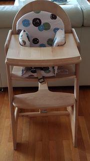 Kinderhochstuhl Geuther mit Sitzverkleinerer