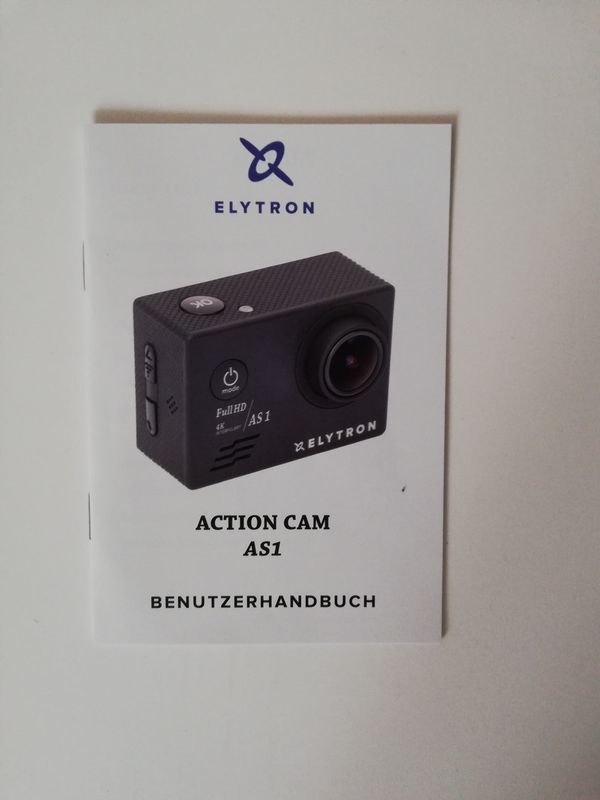 4k ActionCam AS1 von Elytron