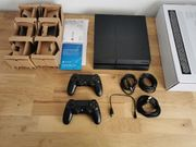 PS4 1TB inkl 2x Controller