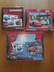 CARS Domino Puzzle Memo