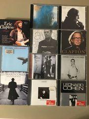 CD s von Clapton Cohen