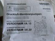 Druckluftmembranpumpe Verder Air VA15