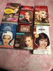 6 Haarpflegemittel Farbe Dauerwellen usw