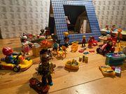 Playmobil Ferienhaus Boot Auto Verkaufsständen
