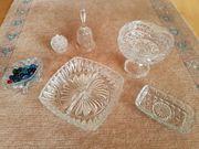 Kristallschalen etc