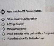 Komplette Musikanlage von Auna