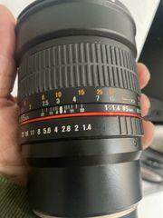 SAMYANG MF 85mm F1 4