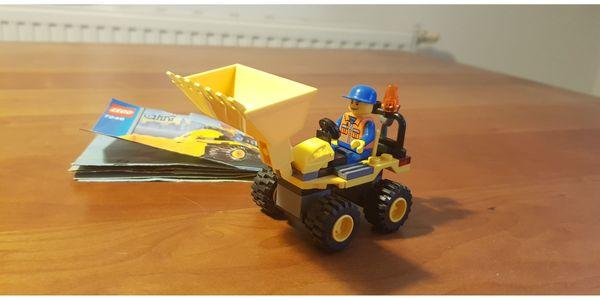 LEGO City 7246 Mini Bagger