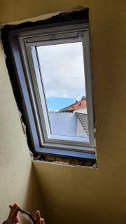 Nach Dachfenstereinbau Trocken- und Innenausbauarbeiten