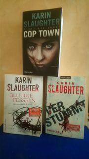 Karin Slaughter mit drei Thriller