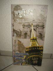 LED Bild von PARIS 30x60cm