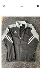 Adidas Trainingsanzug Herren schwarz-grau Gr