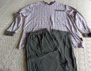 Vintage - Pyjama Schlafanzug Herren Gr