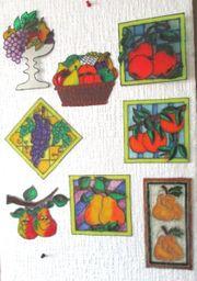 Versch Obstbilder DIN A 5