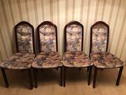 4 Stühle Echtholz