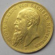 20 Mark Gold Münze 1905