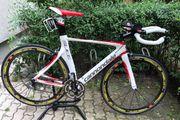 Rennrad Zeitrad Cannondale Slice Carbon