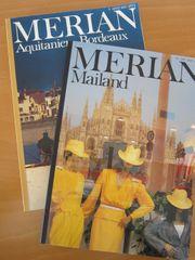 Merian-Hefte aus den 1980er-Jahren Reiseführer