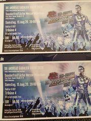 2 Tickets für die Andreas