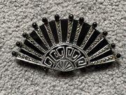 Fächer BROSCHE 925 Sterling Silber