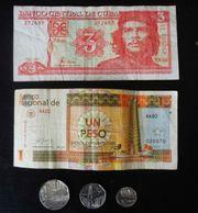 Münzen und Banknoten Kuba Che