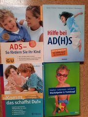 Verschiedene Ratgeber zu ADS ADHS