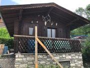 Rundbohlenhütte Jägerhütte Waldhütte Gartenhaus Almhütte