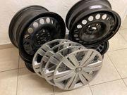 1 Satz original VW-Stahlräder 6