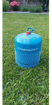 Volle Gasflasche Campinggaz