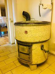 Waschkessel bzw Schlachtkessel mit Rohre