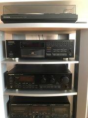 Pioneer Steroturm mit Lautsprechern und