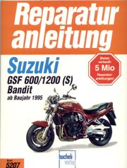 Reparaturanleitung SUZUKI GSF 600 1200