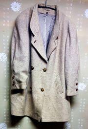 Damen Jacke beige Mantel 52