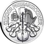 100Stk Philharmoniker Silber