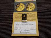 Gold Medaille Nachprägung der Gold