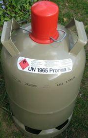 Gasflasche 11 kg Grau leer