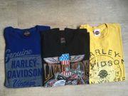 Harley Davidson T-Shirts 3x Größe