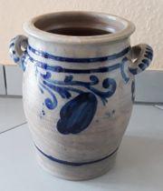 Steingut- Schmalztopf 3 Liter