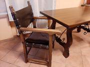 6 Stühle im Kolonialstil
