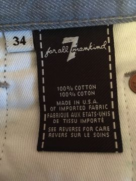 Herrenbekleidung - Vintage-Jeanshose 7 for all mankind