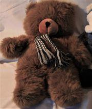 Teddy braun mit Schal 50